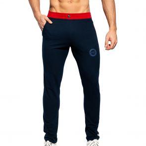 ES Collection Pique Fit Pants SP244 Navy