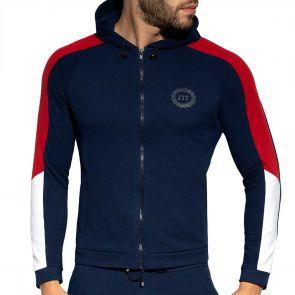 ES Collection Pique Fit Jacket SP263 Navy