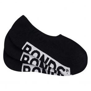 Bonds Mens Logo Cushioned Sneaker 3-Pack SXMV3N Black