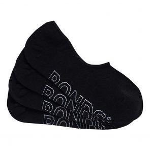 Bonds Mens Logo Lightweight Sneaker 4 Pack SXN34N Black