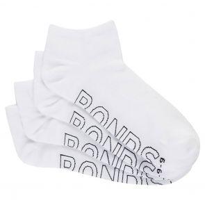 Bonds Logo Light Trainer 4 Pack Socks SYAP4N White