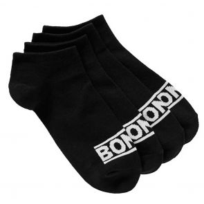 Bonds New Era Trainer Socks 4-Pack SYUY4N Black