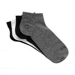 Jockey JK Everyday Active 4 Pack Trainer Socks SYX34A Assorted