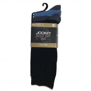 Jockey Business Cotton Crew 3-Pack SZZI3N Assorted