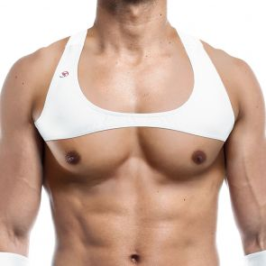 Joe Snyder Harness Top JS31 White