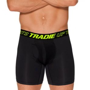Tradie Cool Tech Mid Length Trunk MJ2072SK Black