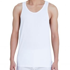 Calvin Klein Modern Cotton Tank 2-Pack NB1099 White