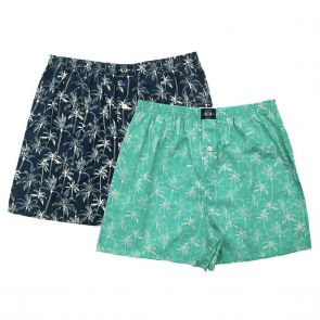 Coast Clothing Cotton Boxers 2 Pack 19CCU507 Trees