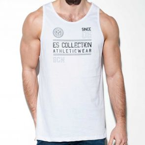 ES Collection Athleticwear Tank Top TS219 White