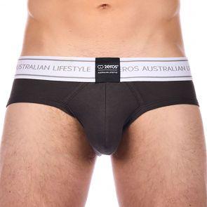 2eros U22 Core Brief Underwear U2220 Charcoal