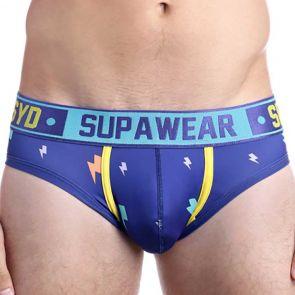 Supawear Sprint Brief U22SP Blue Lightning