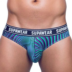 Supawear POW Brief Underwear U27PO Freaky Green