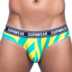 Supawear POW Brief Underwear U27PO Yellow Beast
