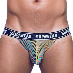 Supawear POW Jockstrap Underwear U91PO Freaky Orange
