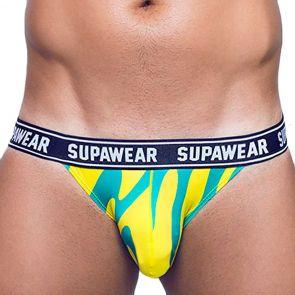 Supawear POW Jockstrap Underwear U91PO Yellow Beast