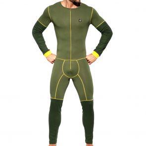 ES Collection Dystopia Bodysuit UN287 Kaki