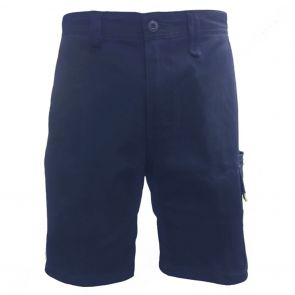 Tradie Mens Flex Slim Fit Cargo Shorts MJ3200SD Navy