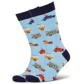 Mitch Dowd Road Trip Crew Socks XMDM684 Multi