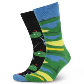Mitch Dowd Great Golfer Odd Socks XMDM809 Multi