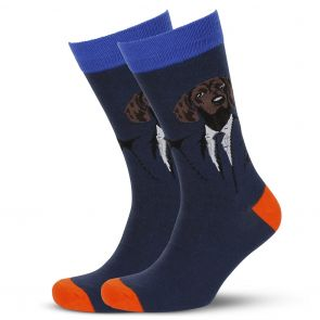 Mitch Dowd Mr Hound Jacquard Crew Socks XMDM814 Multi