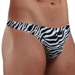 Doreanse Thong 1314 Zebra Mens Underwear