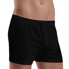 Doreanse Cotton Loose Boxer Short 1511 Black Mens Underwear