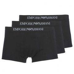 Emporio Armani Cotton Trunk 3-Pack 111610 CC722 Black