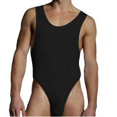 Doreanse Thong Bodysuit Athletic 5003 Black Mens Underwear