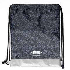 ES Collection Reversible Camo Backpack AC073 Charcoal