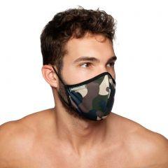 Addicted Camo Face Mask AC087 Camouflage