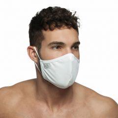 Addicted Shiny Face Mask AC108 White