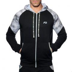 Addicted Geoback Sweatshirt AD615 Black Mens Underwear