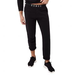 Bonds Originals Straight Leg Trackies AY8GI Black Mens Clothing