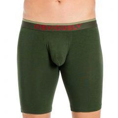 Obviously FreeMan Boxer Brief 9 Inch Leg C01 Pine Mens Underwear