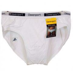 Davenport Bodyfit Brief DAV009 White Mens Underwear