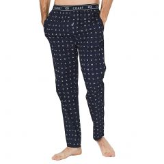 Coast Signature Essential Poplin Sleep Pants 19CCS335 Navy Mens Sleepwear