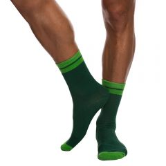 Hey Franky Play Socks HF009G Green