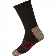 Explorer Cotton Summit Copper SZMQ1A Black Mens Socks