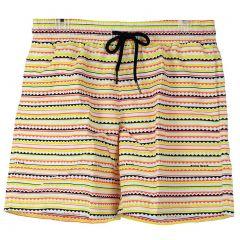 Nookie Beach Good Vibrations Boys Boardies Swim Short NBS10916 Fiesta Men Swimwear