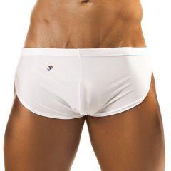 Joe Snyder Running Shorts JS09 White Mens Shorts