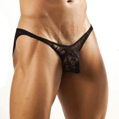 Joe Snyder Bulge Bikini Brief JSBUL04 Black Lace Mens Underwear
