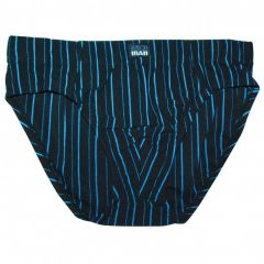 Bendon Man Cotton Stretch Brief M1-565 Black/Marina