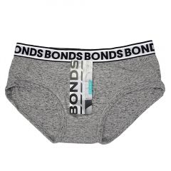 Bonds Fit Briefs M334 Granite Marle