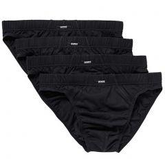 Bonds Action Hipster Brief 4 Pack M8OS4 Black Mens Underwear