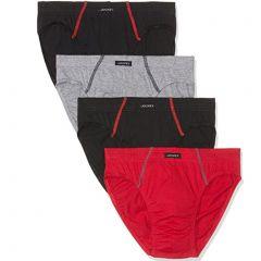 Jockey Cotton Brief 4-Pack M9014L Multi Mens Underwear