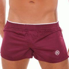 Marcuse Twitch Boxer Burgundy Mens Underwear