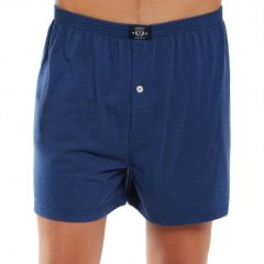 Coast Mens Knit Boxer Short MCBS2380 Navy Marle Mens Underwear