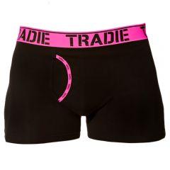 Tradie Man Front Trunk MJ1621SK Pink Pop Mens Underwear