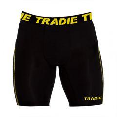 Tradie Compression Long Leg Trunk MJ1722SA Black Mens Underwear