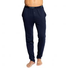 Jockey Weekender Knit Pants MXHK1A Navy Mens Clothing